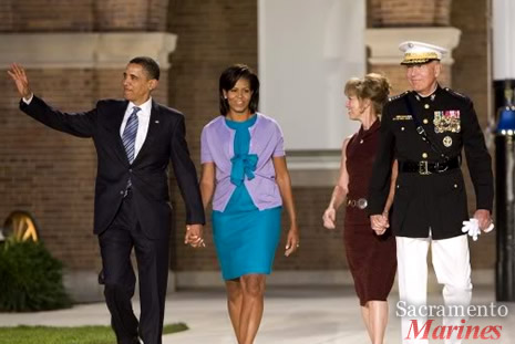 General Conway and President Obama