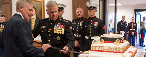 Marine Corps 237th Birthday Message, 2012